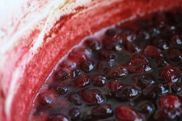 pinot noir spiced cranberry sauce | Food Fix Kitchen