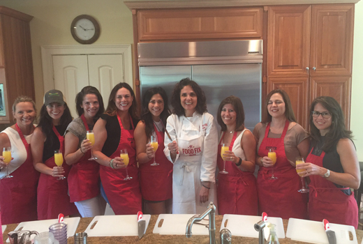 Food Fix Kitchen In-Home Cooking Party. Have one with your group!