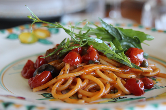Farmer's-Spaghetti-Recipe-Mamma-Agata-Cooking-Class-Amalfi-Coast-Italy-Delectable-Destinations-Carol-Ketelson